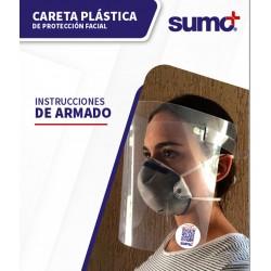 Careta Plastica Protección...