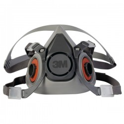Respirador 3M 6200 Media...
