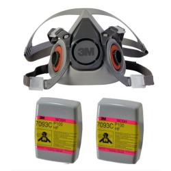 Respirador Reutilizable 3m...